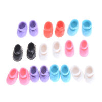 5Pairs 12cm  Doll Shoes Accessories Kelly Doll Confused Doll Shoes Kids Toy XR