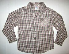 Gymboree Varsity Champ Boys Heavy brushed cotton Long Sleeve Shirt size 6
