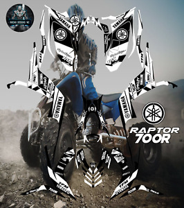 Yamaha Raptor 700-700R 2006-2012 full graphics kit sticker decals
