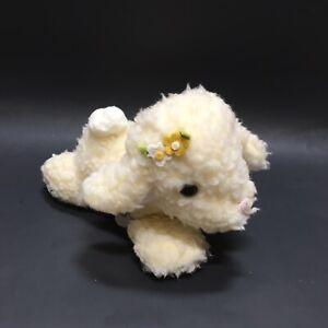 Musical Plush Wind Up Sheep Mary Had Little Lamb Baby Shower Nursery Animal Vtg