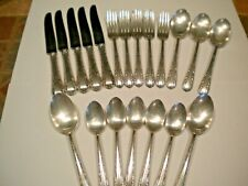 McGlashan Clarke Kings Plate MCG5 Mayflower Silverplate Flatware Set 20 piece