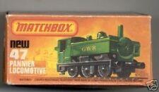 Repro Box Matchbox Superfast Nr.47 Pannier Locomotive