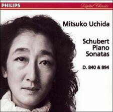 NEW Schubert: Piano Sonatas D.840 & 894; 1997 CD, Mitsuko Ochida, Philips New