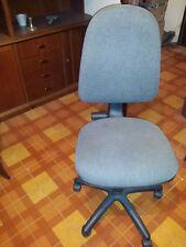 Sedia regolabile altezza girevole ufficio poltrona casa studio grigia blu rossa