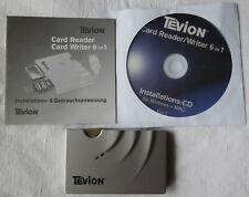 Tevion Multi Card Reader / Writer 6 in 1 / 23143708  X/27/03