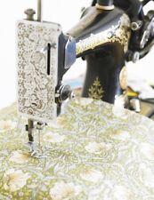 William Morris Pimpernel vert floral lourd tissu de coton par le demi mètre