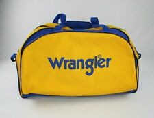 Wrangler Large Shoulder Duffle Bag Yellow And Blue