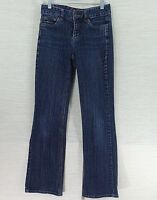 "Tommy Hilfiger Denim Jeans Size 2 Hope Boot Cut Dark Stretch Jeans 30"" Inseam"