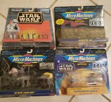 Micro Machines Star Wars 4 Piece Set! New in Box. Free shipping!