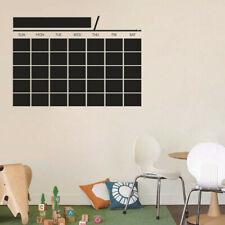 Removable Chalkboard Blackboard Wall Sticker Schedule Plan Office Memo Decal New
