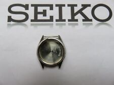 SEIKO 712289 Stainless Watch Case +back cover+crown *EMPTY*NEW*NOS*VINTAGE*