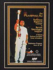 Muhammad Ali Signed Autograph Program JSA *RARE