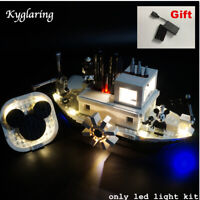 Kyglaring LED Light for LEGO 21317 Ideas Disney Steamboat Willie Beleuchtungs