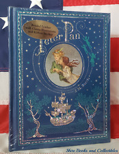 NEW SEALED Peter Pan by J. M. Barrie Hardcover Bonded Leather Collectible