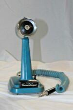 TURNER SSB + 2 TRANSISTORIZED MICROPHONE -  Blue Color