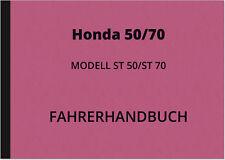 Honda Dax ST 50 70 Bedienungsanleitung Betriebsanleitung Handbuch ST50 ST70