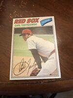 1977 Topps Carl Yastrzemski #480 Boston Red Sox Baseball Card