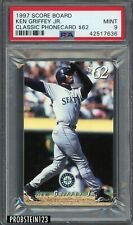 1997 Score Board Classic Phonecard Ken Griffey Jr. HOF PSA 9 POP 1 NONE HIGHER