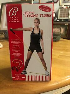 New Bally Total Fitness Pilates Toning Tubes