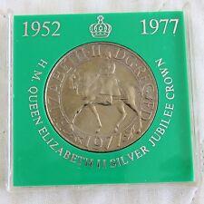 1977 SILVER JUBILEE CROWN - lloyds green case