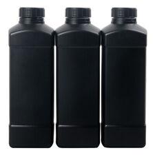 3X 1L Darkroom Chemical Storage Bottles Plastic For 120 135 4x5 Film Developing