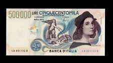 Italy, 500000 lire, 1997, AUNC, P 118