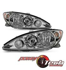 2005-2006-Toyota-Camry-LE-XLE-SE-Headlights-Headlamps-Replacement-Set-Left-Righ