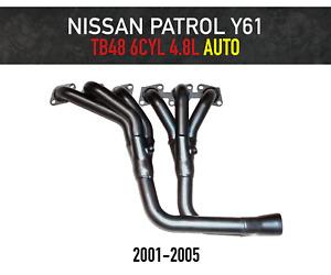 Headers / Extractors for Nissan Patrol GU Y61 AUTO (2001-2005) TB48 4.8L