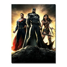 Batman VS Superman Hot Movie Art Silk Canvas Poster 13x18 24x32 inch Wall Decor