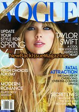 Vogue 2/12,Taylor Swift,February 2012,NEW