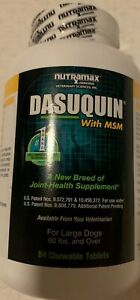 Nutramax Dasuquin with MSM for Large Dogs (84 Chewable Tablets) Exp 04/2024 New