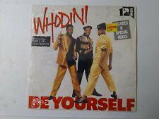 "Whodini-Be Yourself 12"" Vinyl Single 1987"