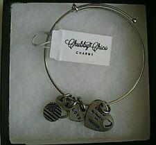 "Charm Bracelet ""A Piece Of My Heart Is In Heaven"" Chubby Chico Charm Bracelet"