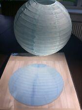 Paper Lantern Ball Paper Decoration   Wedding Valentine Baby Shower  25cm. BLUE