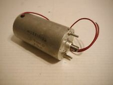"Vintage 7"" Electric 12volt D-C Motor MO551013A  6-24-64 ground bolt to metal"