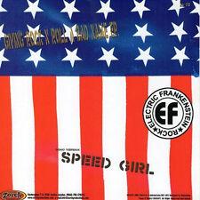 """ELECTRIC FRANKENSTEIN / SPEEDFREAKS Split 7"""" . punk rock motorhead turbonegro"""