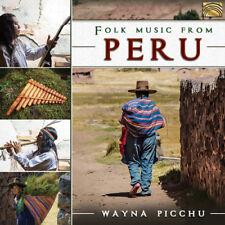 Folk Music from Peru [New CD]