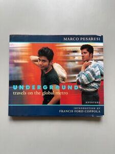 Underground / Marco Pesaresi / Edition originale (1998) / Métro / Photographies