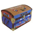 Kids Children's Pirate Toy Storage Box Small Trunk Treasure Chest Box Boys Gift