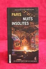 Paris Nuits insolites - Jean-laurent Cassely - Livre - Occasion