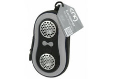 KNG Exclaimer Music Prophecy Silver Portable Speaker Case Cover For MP3