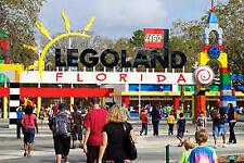 LEGOLAND Florida/Orlando Theme Park Tickets FULL One Day Passes!