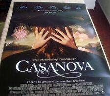 Casanova Poster Unfolded,Double Sheet, 2005, Heath Ledger, Sienna Miller