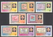 Rwanda 1979 R Hill/S-on-S/Animals/Boats 8v set (n22235)