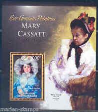 CENTRAL AFRICA 2012 MARY CASSATT  SOUVENIR SHEET MINT NH