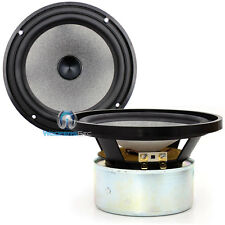 """(2) FOCAL UTOPIA 6.5"""" SHIELDED CONE CAR OR HOME MIDS MIDBASS MIDRANGES SPEAKERS"""