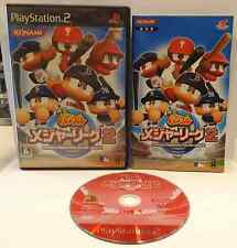 Playstation 2 PS2 NTSC JAP JAPANESE GIAPPONESE Jikkyou Powerful Major League 2