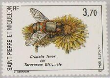 ST. PIERRE MIQUELON SPM 1994 672 599 Nature Insect Flower Insekt Blume Fauna MNH