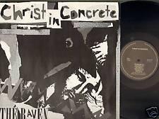 CHRIST IN CONCRETE Live LP Bolwerk Sneek THE RAVEN
