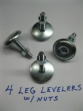"NEW 2"" LEG LEVELERS SET of 4 Heavy Duty - > Pinball & Arcade Cabinets"